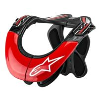 Alpinestars - Protections cervicales Bns Tech Carbon Rouge