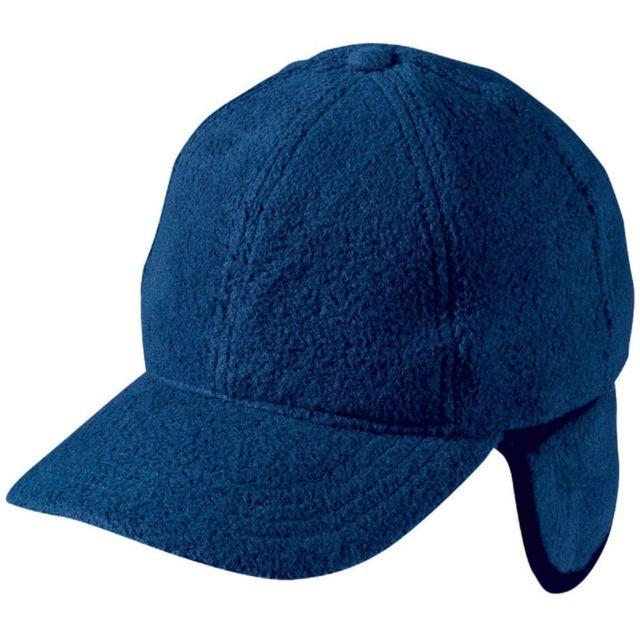 vente la plus chaude commercialisable acheter pas cher Casquette avec cache-oreilles - Mb7510 - bleu marine