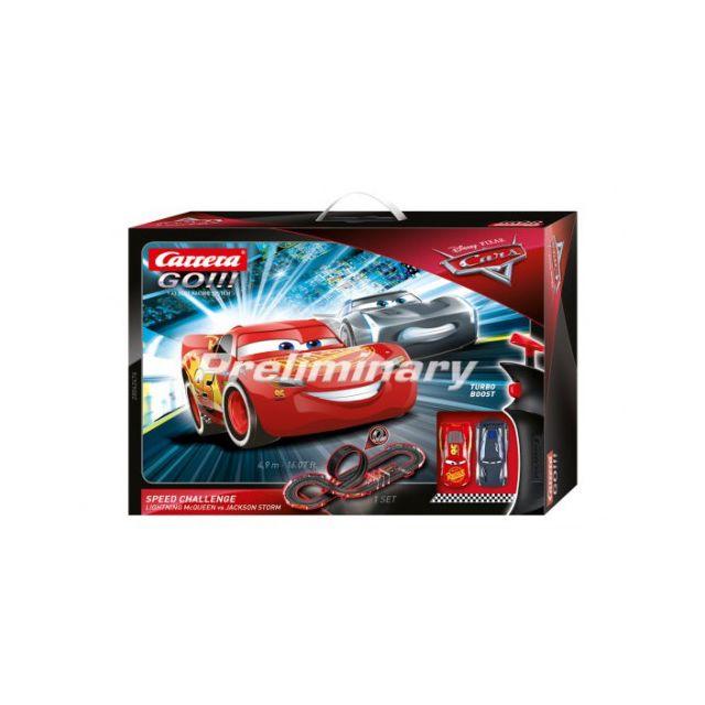 Carrera Circuit voitures Disney Pixar Cars Speed Challenge - Dès 6 ans - Go!!! 62476
