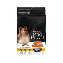 Proplan - Croquettes Pro Plan All Size Adult OptiWeight Light / Sterilised Sac 3 kg