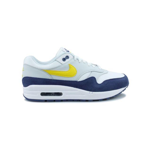 Nike Air Max 1 Blanc Ah8145 105 Pas Cher Achat   Vente Baskets