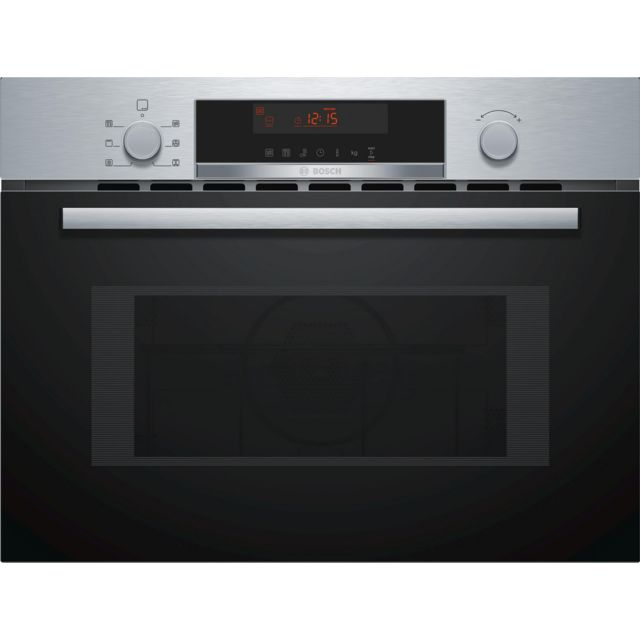 Bosch micro-ondes gril encastrable 44l 900w inox - cma583ms0