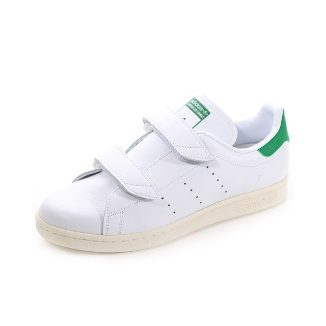 ef0053ced51 Adidas - Chaussures Stan Smith Fast Blanc Homme Adidas Multicouleur 44