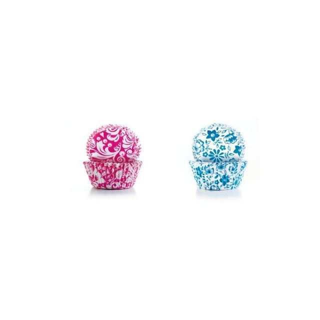 Ibili Capsule Cupcake Fleurs 50+50 pcs