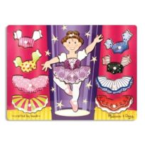Melissa & Doug - 13292 - Puzzle - Ballerina Dress - Up Mix N Match Peg