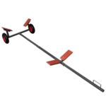 Vidaxl - Remorque chariot de mise à l'eau 320 cm charge 160 kg max