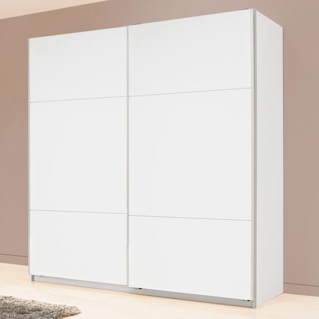 alin a karma armoire 2 portes coulissantes blanches. Black Bedroom Furniture Sets. Home Design Ideas