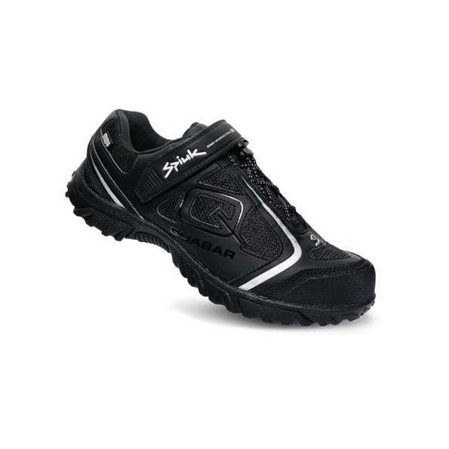 19aaf791ec8 Spiuk - Chaussures Quasar M2V Vtt 2019 noir mat argent - pas cher Achat   Vente  Chaussures cyclisme - RueDuCommerce