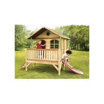Axi House - Cabane enfant Stef en cèdre vernis naturel