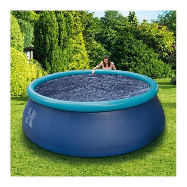 Carrefour b che bulles 457 cm pas cher achat for Carrefour bache piscine
