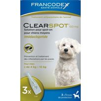 Francodex - Clearspot 3x100 Mg Chien