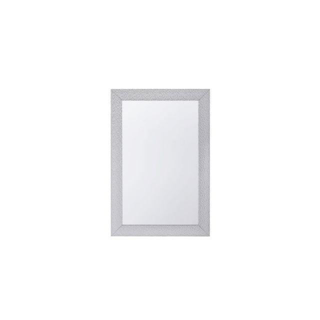 BELIANI Miroir argenté 61 x 91 cm MERVENT - argent