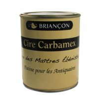 Briancon - Cire En Pate Carbamex - En Pate Pot De 1 Kg - Finition:Incolore
