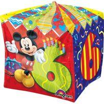"ToyCentre - Amscan 15 ""/ 38 Cm Cubez Foil Balloons 6 Ans"