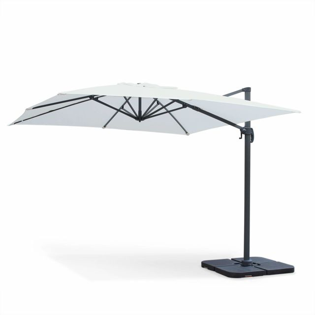 alice 39 s garden parasol d port carr 3 x 3m haut de. Black Bedroom Furniture Sets. Home Design Ideas
