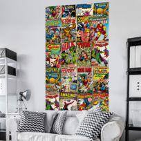 Komar - Poster géant intissé Couverture de Bd Marvel Rétro