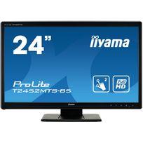 Ecran 24'' 2ms tactile multipoints VGA/DVI/HDMI