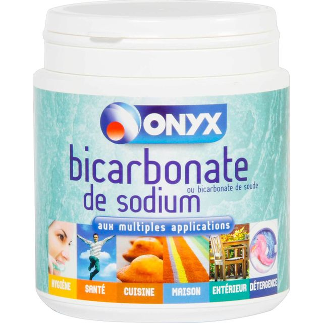 onyx bicarbonate de sodium alimentaire bo te 500g pas cher achat vente produit pr paration. Black Bedroom Furniture Sets. Home Design Ideas