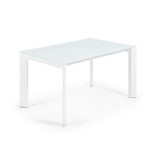 Kavehome Table extensible Axis, blanc - 140 200, x90 cm