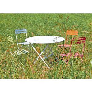 chaise pliante paris fuchsia pas cher achat vente chaises de jardin rueducommerce. Black Bedroom Furniture Sets. Home Design Ideas