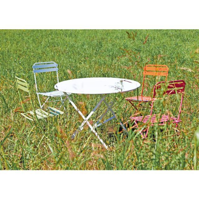 Chaise pliante Paris blanc