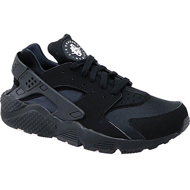 cheaper 5fa0a f6215 Nike - Air Huarache Triple 318429-003 Noir - pas cher Achat  Vente Baskets  homme - RueDuCommerce
