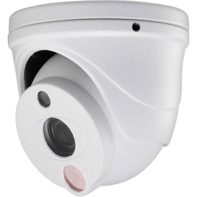 Sygonix Caméra de surveillance analogique Caméra de surveillance analogique Hd 4 en 1 de qualité avec vision nocturne infrarouge.Avec son indice de protection Ip66, la caméra convient également parfaitement pour une utilisation à l'extérieur.La Led infrar