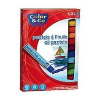 L&B Education - Colart - Boite de 12 pastels tendres aquarellables