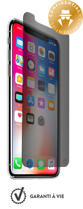 iphone x verre prive coque