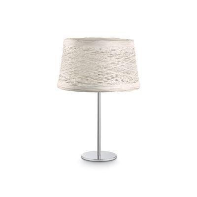Boutica-design Lampe à poser Basket Crème 1x60W - Ideal Lux - 082387