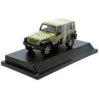 Greenlight - Collectibles - 86042 - VÉHICULE Miniature - ModÈLE À L'ÉCHELLE - Jeep Wrangler Hard Top - U.S. Army - Echelle 1/43