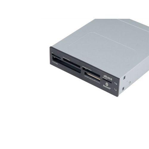AKASA - Lecteur de cartes mémoires 3,5'' - Bluetooth