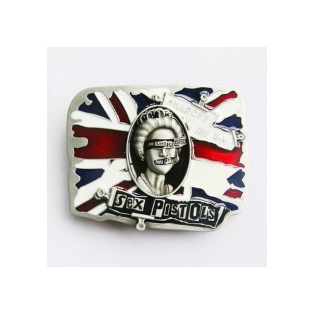 Universel - Boucle de ceinture sex pistols punk rock drapeau anglais - pas  cher Achat   Vente Objets déco - RueDuCommerce 226c21411bb