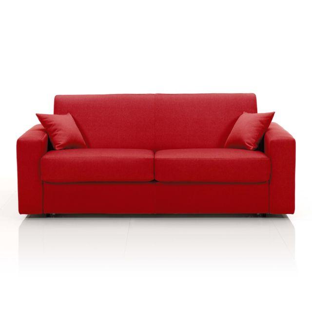 marque generique canap convertible 3 places tissu. Black Bedroom Furniture Sets. Home Design Ideas