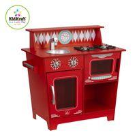 KIDKRAFT - Petite cuisine classique rouge - 53362