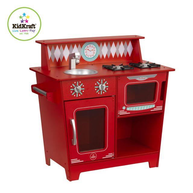 Cuisine kidkraft achat vente de cuisine pas cher for Cuisine rouge kidkraft