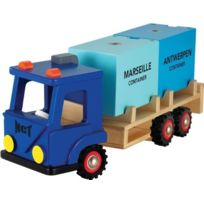 New Classic Toys - Ref 0910 - Camion Avec Deux Containers