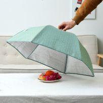 Wewoo - Conservation Couvercle de nourriture pliante Gardez les aliments couverture de feuille d'aluminium chaud, motif fleurs bleues, taille: 80 80 17cm