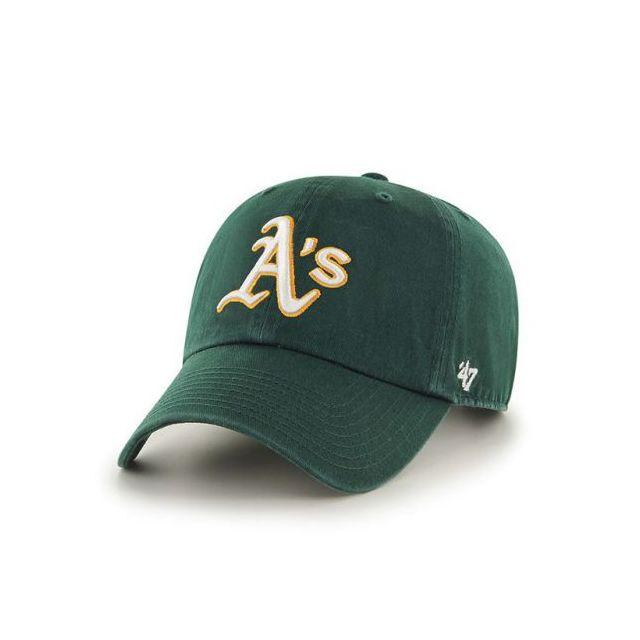 47 Brand - Casquette Oakland Athletics Vintage Clean Up Vert - pas ... 9fb1705130d