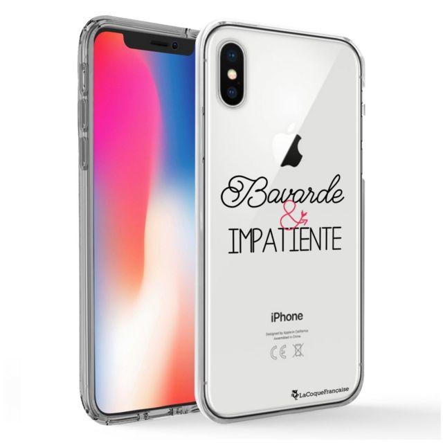 coque iphone x transparente citation