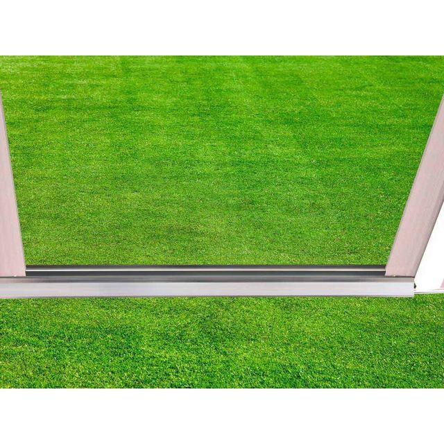 Habitat et Jardin - Abri jardin métal Dallas - 5,29 m² 2m x 2m x 2m