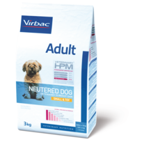 Virbac - Croquettes Adult Neutered Dog Small & Toy Sac 7 kg