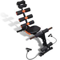 Helloshop26 - Banc de musculation multifonctions abdominaux sport fitness 0702021