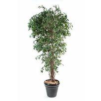 Artificielflower - Arbre artificiel Ficus lianes petites feuilles - plante d intérieur - H.150 cm vert - taille : 150cm