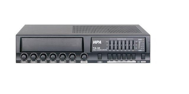Hpa Ta 60 Ampli-préampli 100V public adress