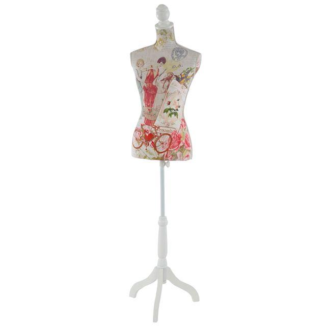 Mendler - Mannequin de couture de tailleur buste torse féminin T222 ~ fibre  de verre, c311c2399b02