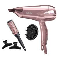 BABYLISS - Sèche-cheveux Fashion - D322RWE - Or rose