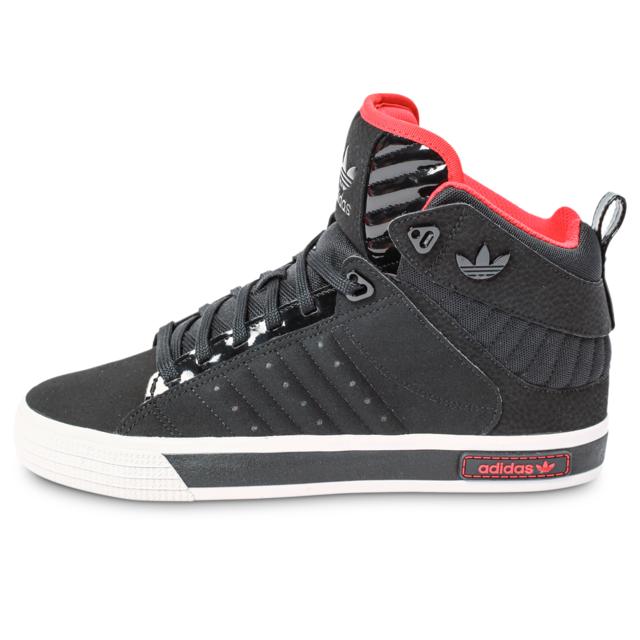 new style a2cbe 83fa9 Adidas originals - Freemont Noire Et Rouge - Baskets - pas cher Achat   Vente Baskets homme - RueDuCommerce