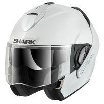Shark - casque intégral modulable en jet Evoline 3 Whu moto scooter blanc brillant