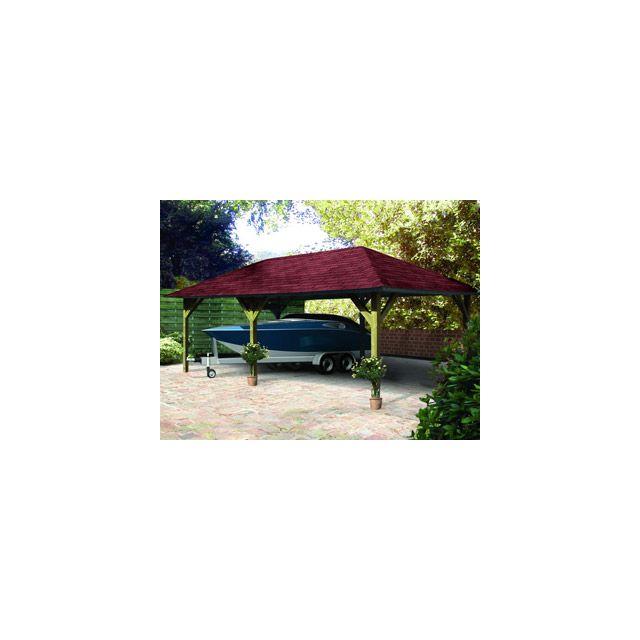karibu pool zen spa abri de jardin pavillon holm 2 coloris bois naturel dimensions 778 x 431. Black Bedroom Furniture Sets. Home Design Ideas